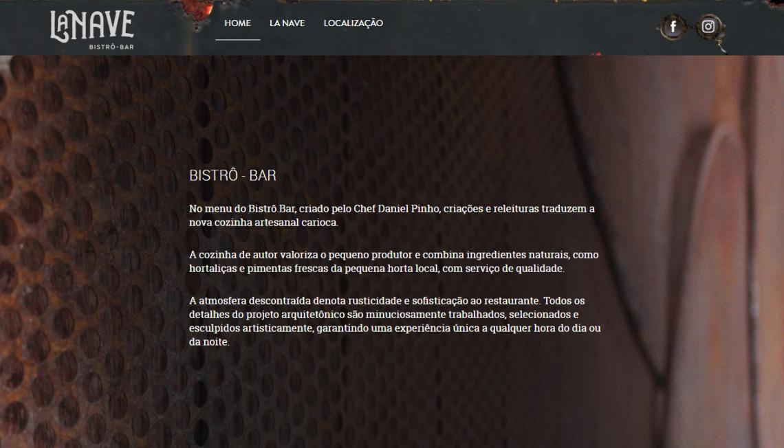 Website La Nave