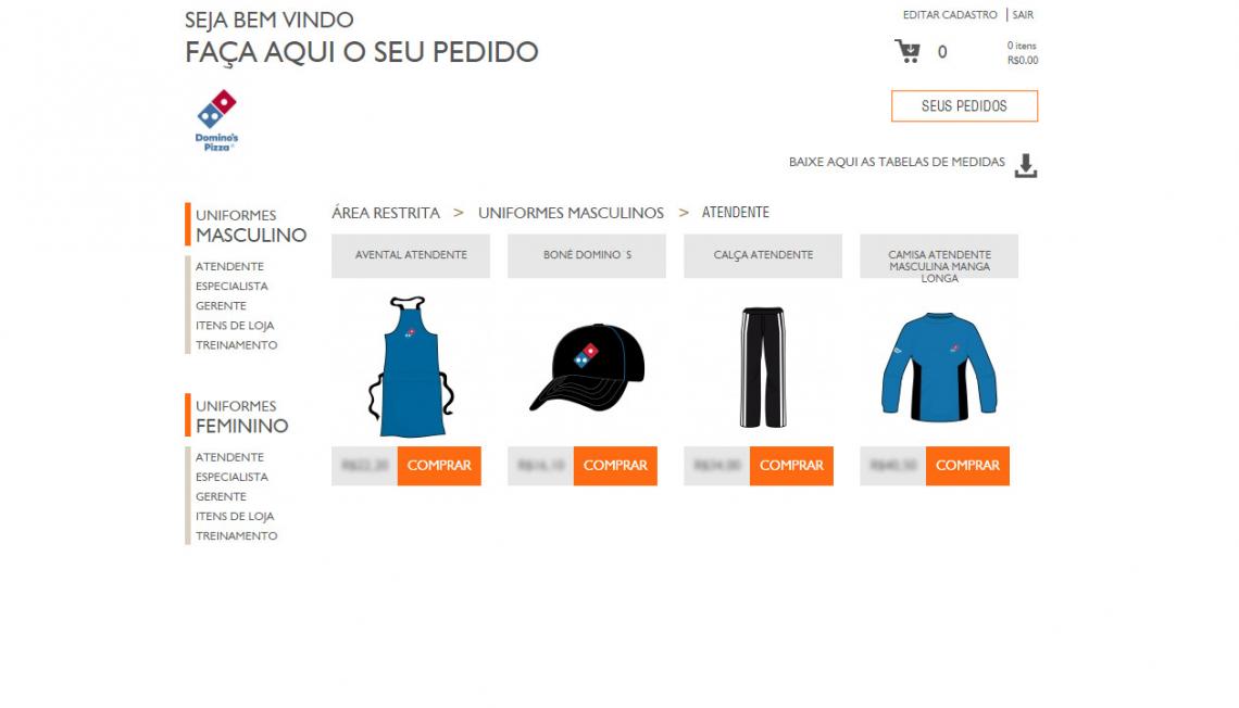 E-commerce VestFood